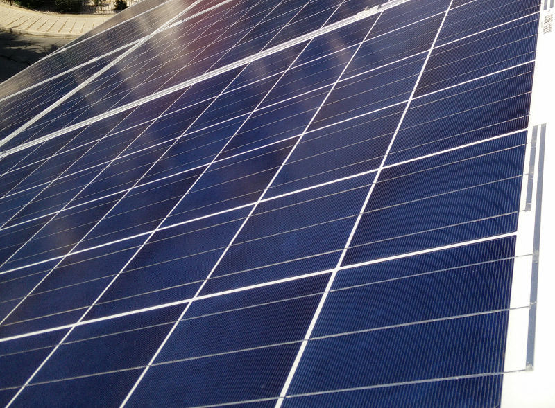 Photovoltaic solar panels in Cyprus